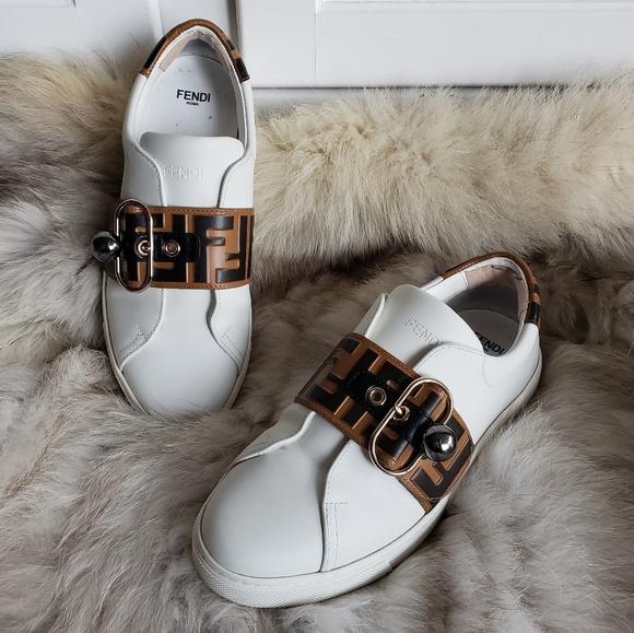 Fendi Shoes   Fendi Pearland Logo Strap